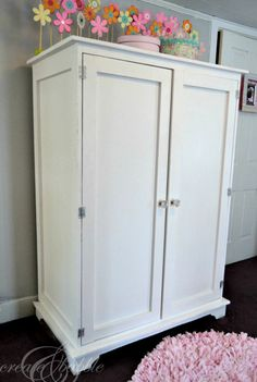 Building An Armoire.  With plans, time, and the right tools, see how you can build a solid wood armoire.