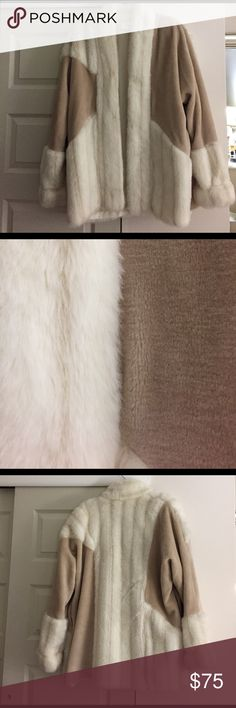 Furry coat Furry coat to keep warm, size s/m, only worn once Jackets & Coats Pea Coats