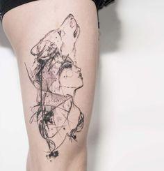 Disséquer la beauté – Les tatouages complexes de Mowgli (image)