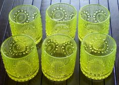 Nanny Still - Grapponia glass  - Vintage Finnish Glass- Hey, my parents have the clear version of these glasses.