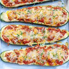 This Low Carb Zucchini Lasagna Boat is Keto friendly and Gluten-free recipe that's the healthier version of the traditional lasgana recipe. Low Carb Zucchini Lasagna, Keto Lasagna, Healthy Dinner Recipes, Low Carb Recipes, Cooking Recipes, Easy Recipes, Recipe T, Pizza Bites, Spaghetti
