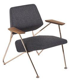 Fauteuil bas about a lounge low rembourr dossier bas hay design armch - Potiron paris fauteuil ...