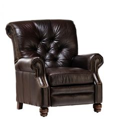 Bryce Chocolate Recliner By King Hickory Furniture Company
