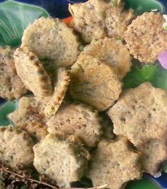 Curly Dock Seed Crackers with Wild Herbs (For Prosperity!)