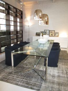 Graye showroom. Prandina, Living Divani, Gallotti & Radice, Porro and CarpetReloaded