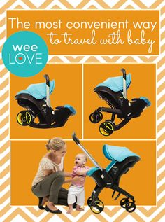 Carseat to stroller without changing gear!