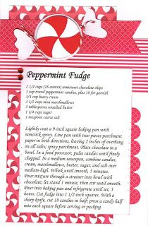 Paper Cottage: Recipe Kit to Go for week of 11/26/2012