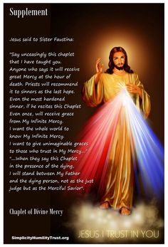 The Chaplet of The Divine Mercy