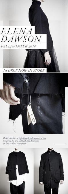 BLACK CELEBRATION - Elena Dawson 1st Drop FW14-15