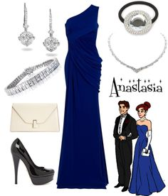"""""""Anastasia"""" Loved this movie....LOVE this outfit! Now if only I had an event to wear this to"""