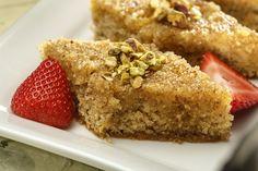 Passover hazelnut baklava cake by Faye Levy in LA Times