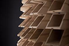 Cantinetta in legno realizzata con portabottiglie Ci/STà