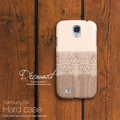 Floral lace Samsung galaxy Note 3 case Samsung galaxy by Decouart, $21.99