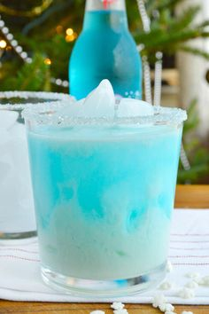 Abominable Snowman Cocktail could be great all Winter long. Perfect during a snowstorm!
