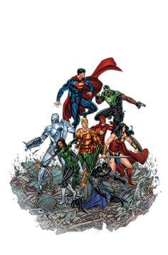 JUSTICE LEAGUE #15 - Comic Art Community GALLERY OF COMIC ART