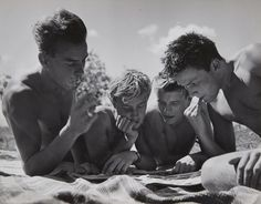 Herbert List, Untitled (Reading boys), 1950s, Auction 1041 Photography, Lot 59