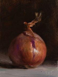 daily painting titled Onion
