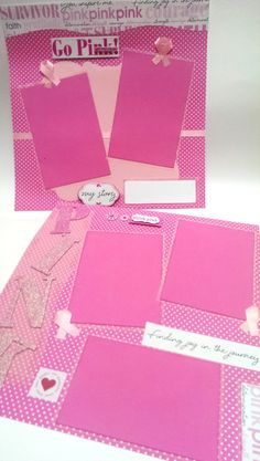 2Premade Breast Cancer Awareness Go Pink for the Cause by DaGbyU, $22.00