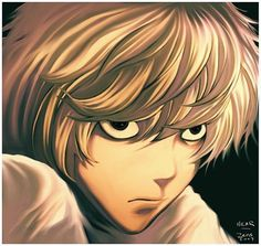 Near Nate River - Death Note Winchester, Monster L, Nate River, Evil World, Book Works, Light Yagami, Anime Nerd, The Lives Of Others, Shinigami
