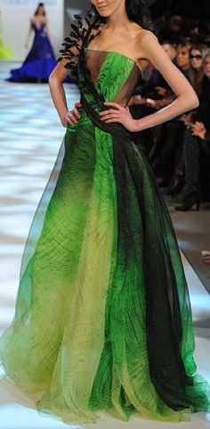 Georges Chakra | Need more of this green in my life!