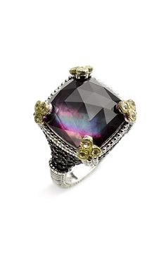Judith Ripka... Favorite Jewelry Designer! Oh and I need this ring...