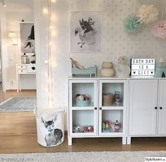 Vårt hem - Hemma hos interior_by_nina Baby Nursery Decor, Baby Bedroom, Baby Rooms, Kids Rooms, Baby Shower List, Name Wall Decor, Dorm Room Walls, Smooth Walls, Nursery Wallpaper