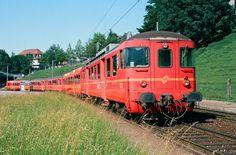 Regional, Trains, Switzerland, Model Building, Automobile, Rolling Stock, Photo Illustration, Train