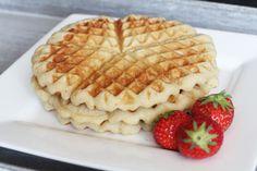 LCHF waffles