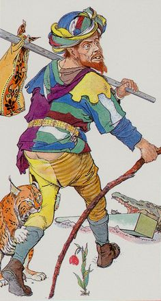 0. The Fool: Hermetic Tarot - Wirth Moderno