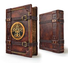 An exquisite hand made large leather journal for you to record your encounters with magic, spells and the mysteries the world has to offer. Journal