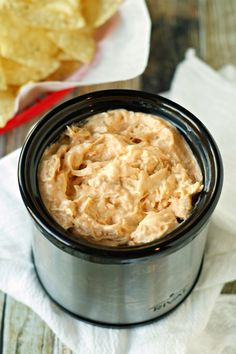 Crockpot-Honey-Sriracha-Chicken-Dip