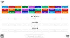 Melléknév fokozása gyakorlása - Nyelvtan 3. osztály FELADAT - Kalauzoló - Online tanulás Periodic Table, Diagram, Periotic Table