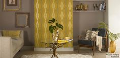 """Using Yellow with Neutral  Dulux """"potters wheel"""""""