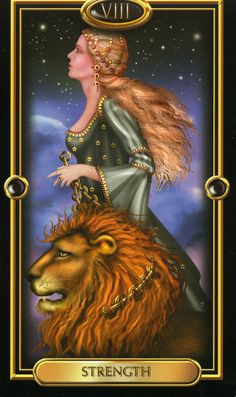 Four of Pentacles Gilded Tarot | Strength