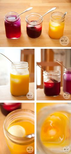 Great natural way to dye eggs!