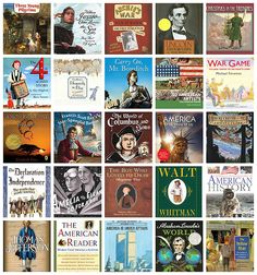 CC Cycle 3 American History Book List (with history, literature, speeches and poetry memory work, geography, and American artists and composers)