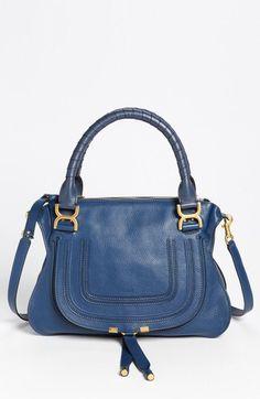 Chloe 'Medium Marcie' Leather Satchel