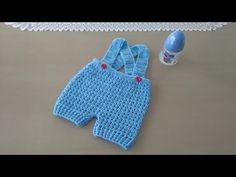 Knitting patterns baby romper boys 44 Ideas for 2019 Crochet Baby Pants, Booties Crochet, Crochet For Boys, Newborn Crochet, Crochet Bunny, Crochet Slippers, Crochet Cross, Easy Crochet, Baby Knitting Patterns