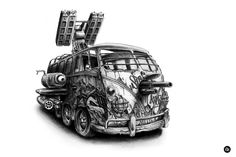 Peace and Love by PEZ - Fine Art Prints now available at Eyes On Walls - http://www.eyesonwalls.com/collections/pez #pez #streetart #blackandwhite #pencil #graffiti #art
