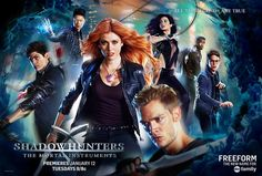 ABC Family Reveals the OFFICIAL Shadowhunters Poster! #Shadowhunters