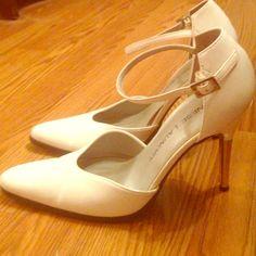 Sexy White Stiletto