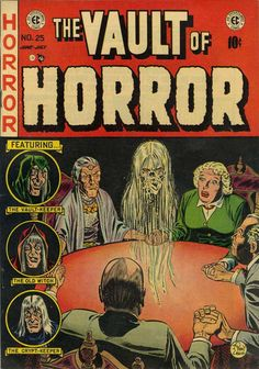 Cover for Vault of Horror (1950 series) #25