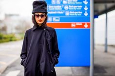Normal People at the Paris Airport, You're Nailing the Style Game via @WhoWhatWear