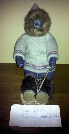Vintage Inuit doll - Sarah Nastapoka #57164