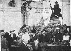 """Sassari indumenti per la Brigata Sassari - Al tempo della grande guerra (1915-1918), Signori dell'aristocrazia sassarese formavano la """"commissione provinciale per la confezione di indumenti militari"""". Un fante su un mucchio di sassi (il fronte del Carso), dice """" fate tutti il vostro dovere """" E' l'anno di Caporetto, che Sassari visse con particolare angoscia, molti erano i Sassaresi impiegati nelle battaglie con il 151° e 152 ° reggimenti della Brigata Sassari. #TuscanyAgriturismoGiratola"""