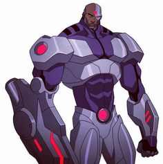 Cyborg- Justice League: The Flashpoint Paradox Dc Comics Characters, Marvel Comic Character, Flashpoint, Cyborg Dc Comics, Hq Dc, Black Comics, Nerd Art, Epic Art, Character Design Animation