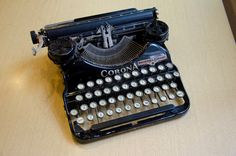 1920's Corona Four Typewriter  GREAT Decoration by 8trackstudios, $225.00