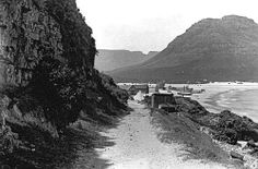 Harbour Road, Hout Bay c1900 Old Pictures, Old Photos, South Afrika, Old Oak Tree, Cape Town South Africa, Leiden, Historical Pictures, African History, Landscape Photography