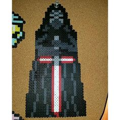Kylo Ren - Star Wars:The Force Awakens perler beads by  mermaid_princess_ariel_