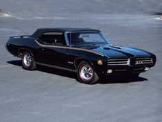 1969 Pontiac GTO Judge Convertible  - 1 of 108 built, and 1 of 5 with the Ram Air IV motor.
